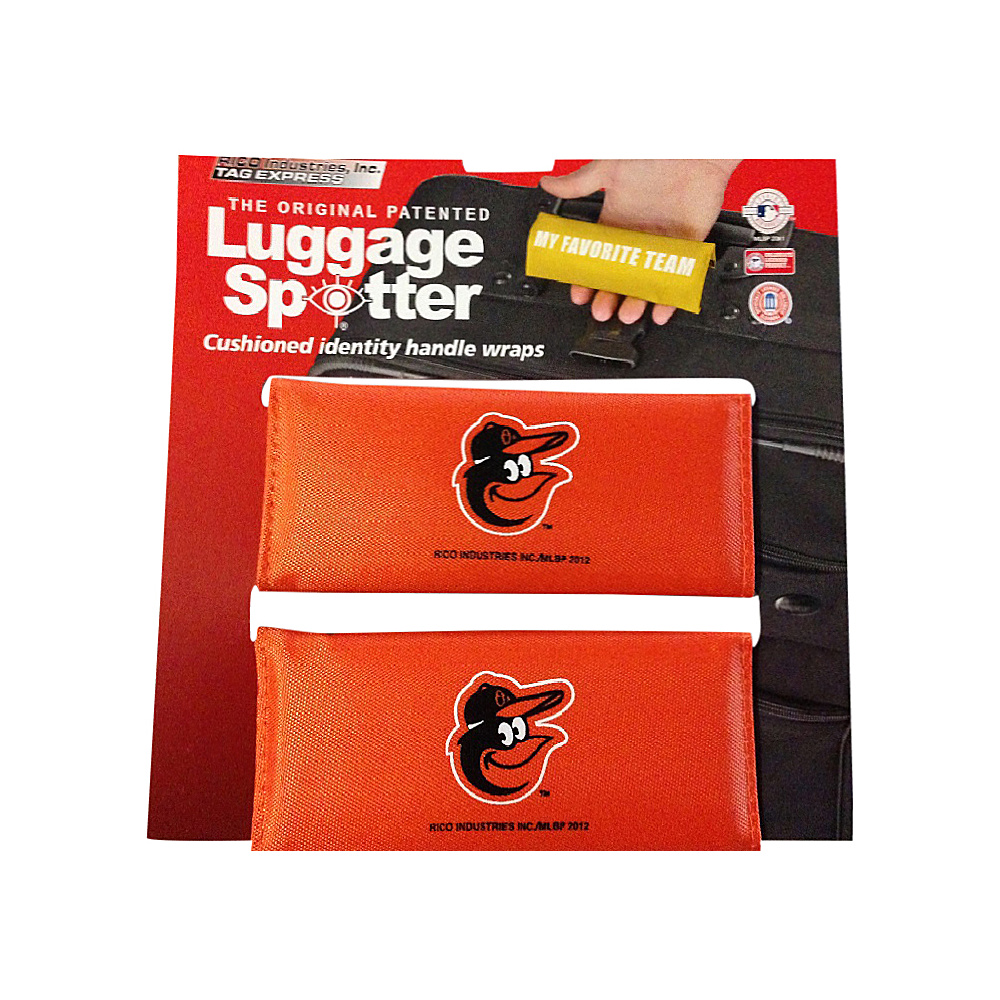 Luggage Spotters MLB Baltimore Orioles Luggage Spotter Orange Luggage Spotters Luggage Accessories