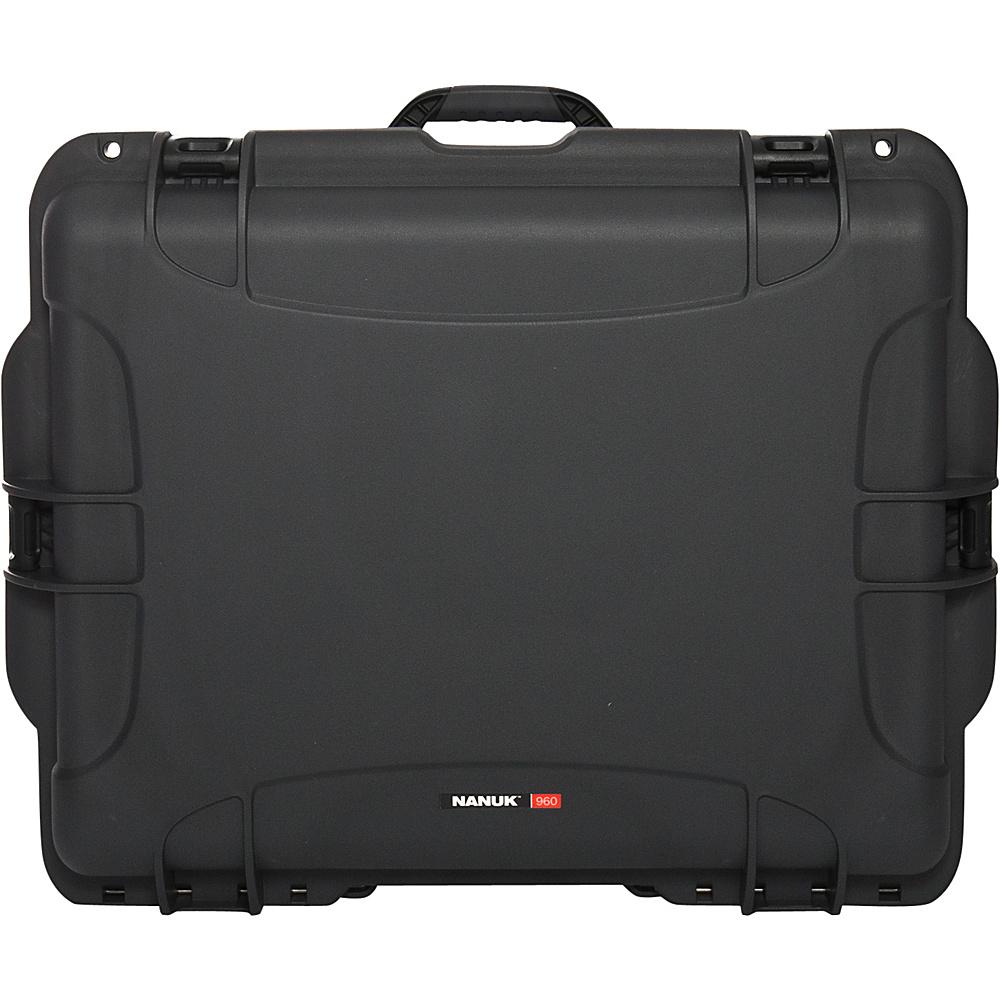 NANUK 960 Case Empty Grey NANUK Hardside Checked