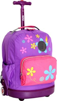 Purple Rolling Backpack Ogooq9Jh