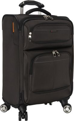 Ricardo Beverly Hills Mar Vista 20-Inch 4 Wheeled Expandable Wheel Aboard Graphite - Ricardo Beverly Hills Softside Carry-On