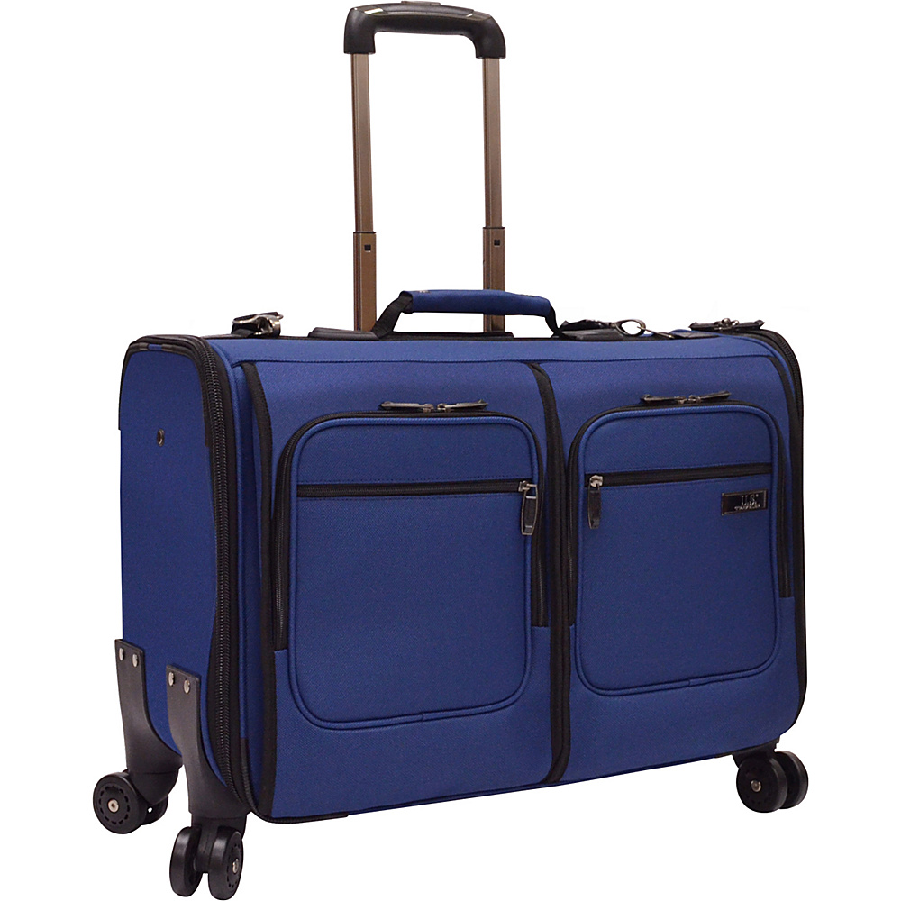 U.S. Traveler Stimson Spinner Garment Bag Blue - U.S. Traveler Garment Bags