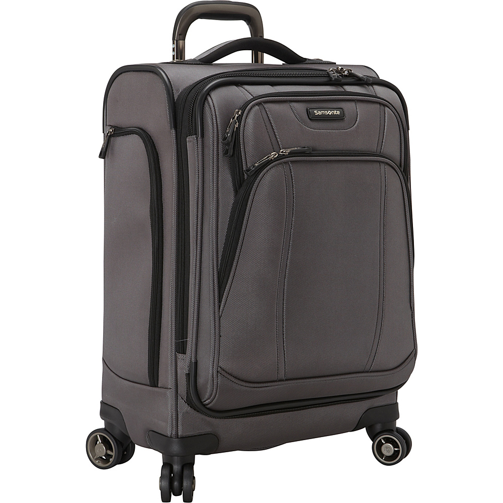 Samsonite DK3 21 Carry On Spinner Luggage Charcoal Samsonite Softside Carry On