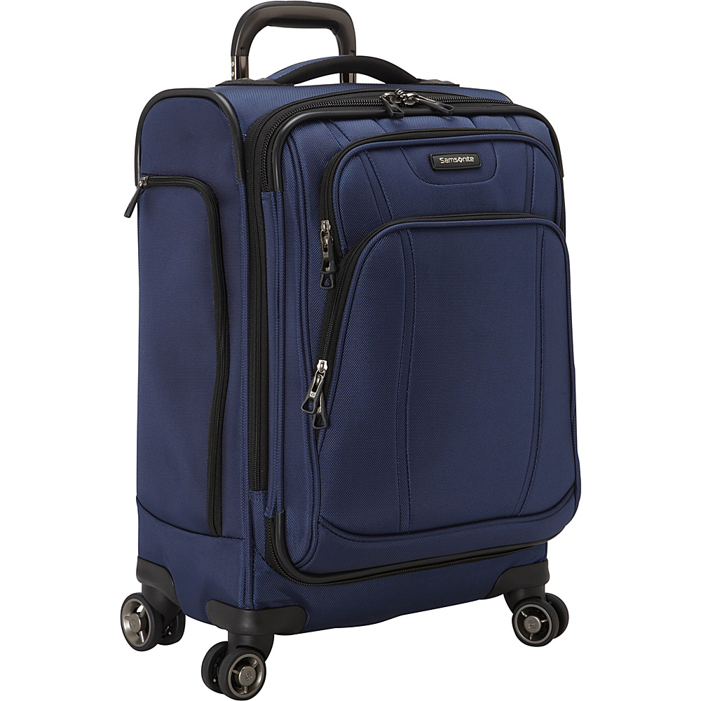 Samsonite DK3 21 Carry On Spinner Luggage Space Blue Samsonite Softside Carry On