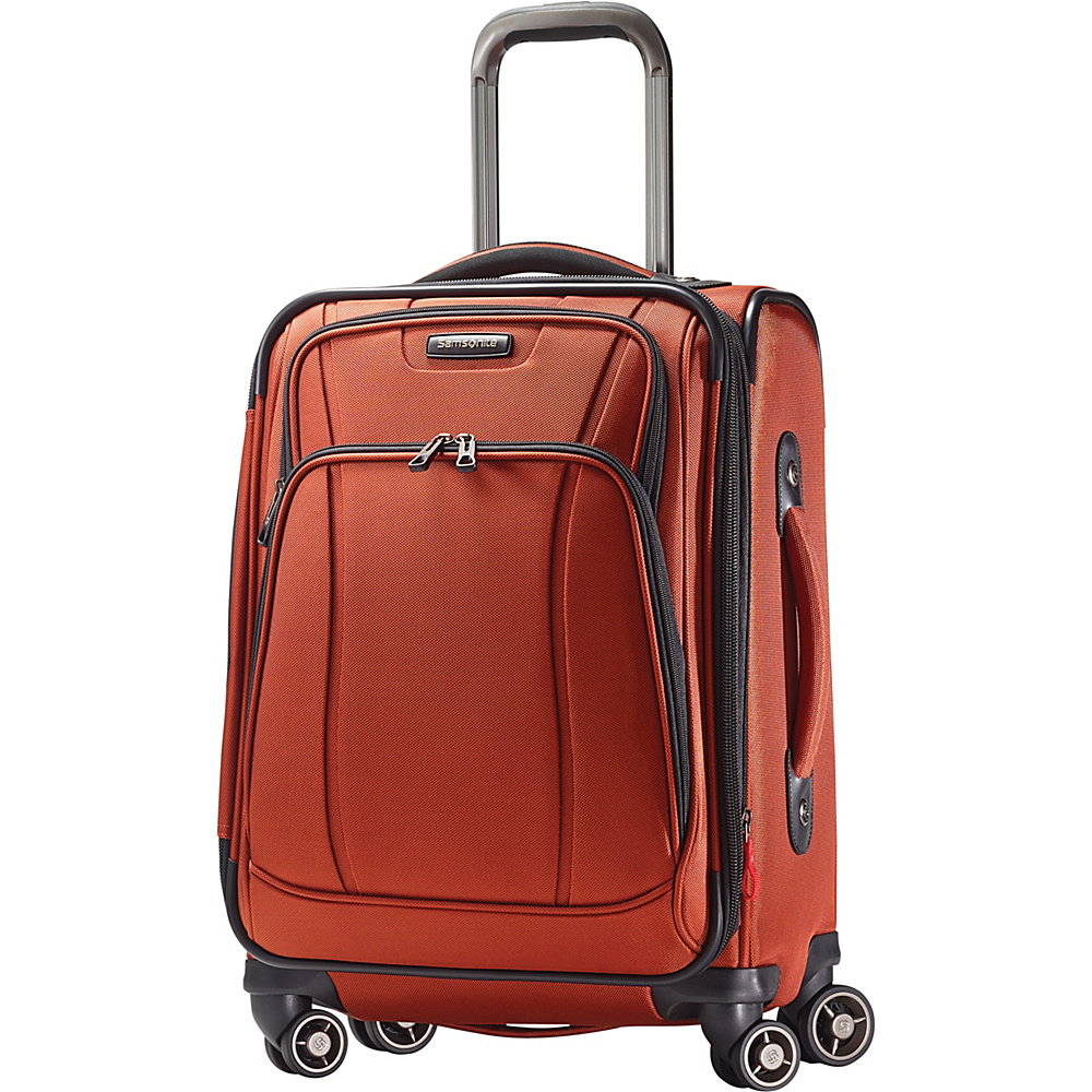 Samsonite DK3 21 Carry On Spinner Luggage Orange Zest Samsonite Softside Carry On
