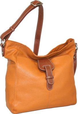 Nino Bossi Hobo Heaven Orange - Nino Bossi Leather Handbags