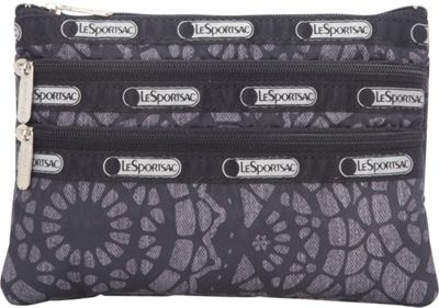 LeSportsac 3 Zip Cosmetic Lace - LeSportsac Ladies Cosmetic Bags