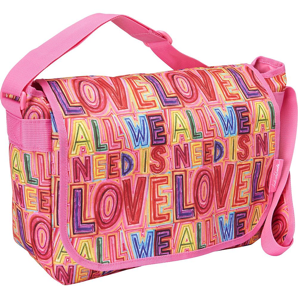 Miquelrius Jordi Labanda Satchel Love Love Miquelrius Messenger Bags