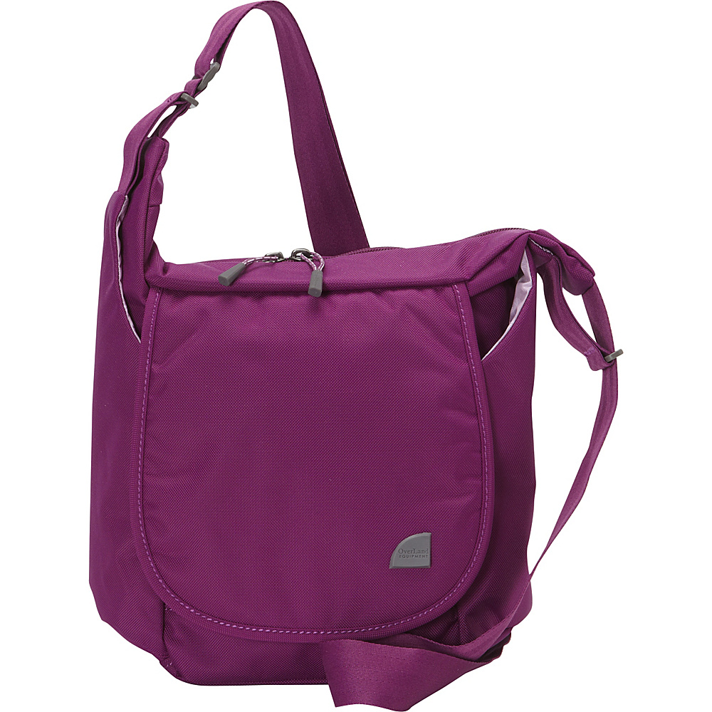 Upc 787116894289 Product Image For Overland Equipment Donner Shoulder Bag Berry Sorbet French Lavender Shibori