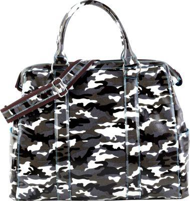 Urban Junket Angela Laptop Bag Grey Camouflage - Urban Junket Non-Wheeled Business Cases