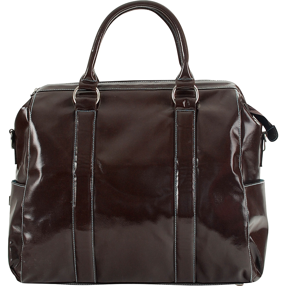 Urban Junket Angela Laptop Bag Chocolate Brown Urban Junket Non Wheeled Business Cases