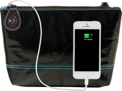 Urban Junket Power Clutch Black - Urban Junket Manmade Handbags