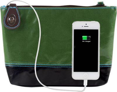Urban Junket Power Clutch Grass - Urban Junket Manmade Handbags