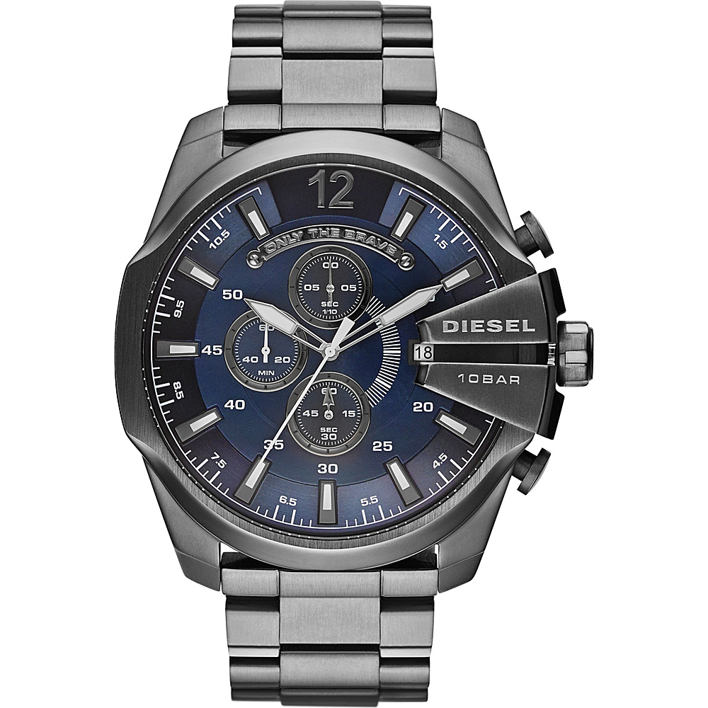 Diesel Watches Mega Chief Watch Grey Diesel Watches Watches
