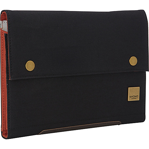 KNOMO London Knomad Mini Portable Organiser Black - KNOMO London Laptop Sleeves