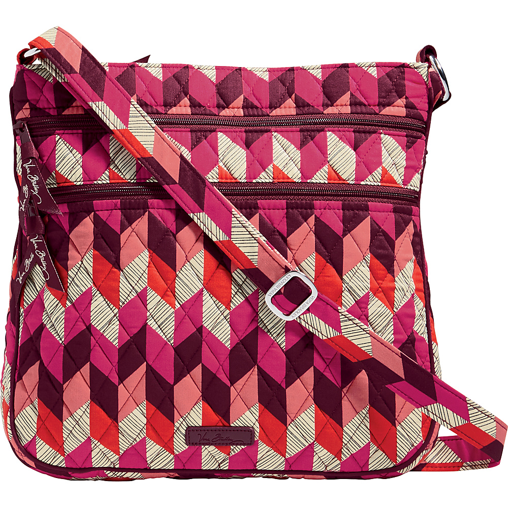 Vera Bradley Triple Zip Hipster- Retired Prints Bohemian Chevron - Vera Bradley Fabric Handbags - Handbags, Fabric Handbags