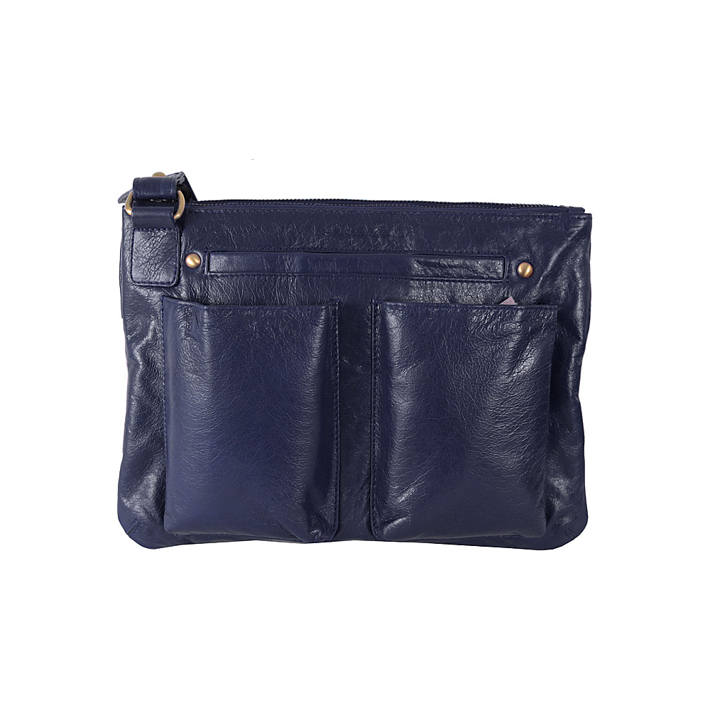 Latico Leathers Rory Crossbody Navy Latico Leathers Leather Handbags