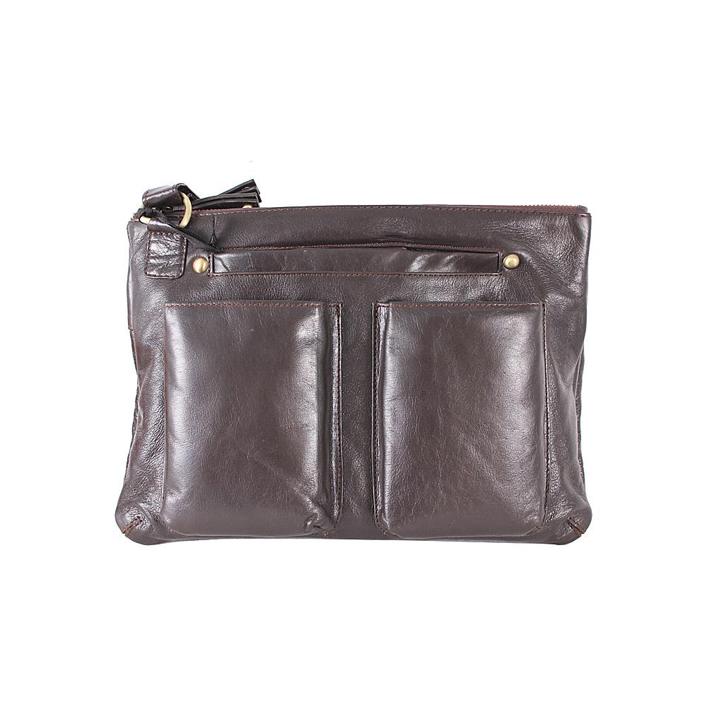 Latico Leathers Rory Crossbody Espresso Latico Leathers Leather Handbags