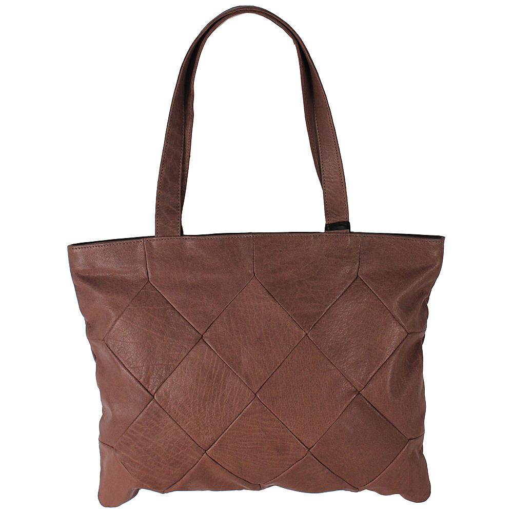 Latico Leathers Elizabeth Tote Glove Brown - Latico Leathers Leather Handbags - Handbags, Leather Handbags