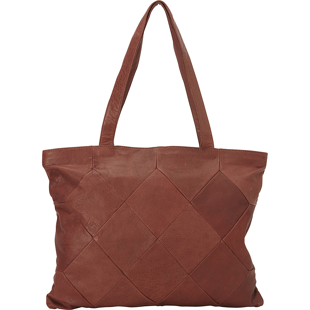 Latico Leathers Elizabeth Tote Glove Wine - Latico Leathers Leather Handbags - Handbags, Leather Handbags