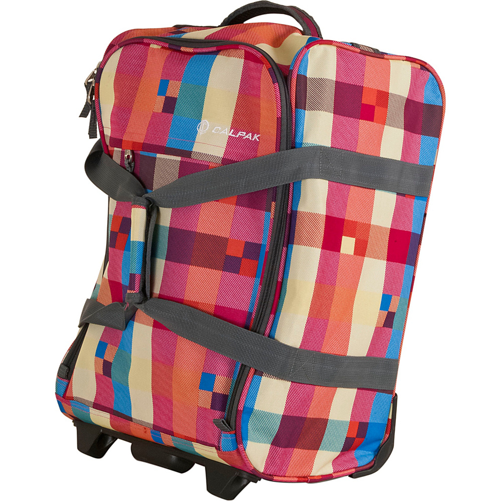 CalPak Rover Travel Duffel Summer Plaid CalPak Travel Duffels
