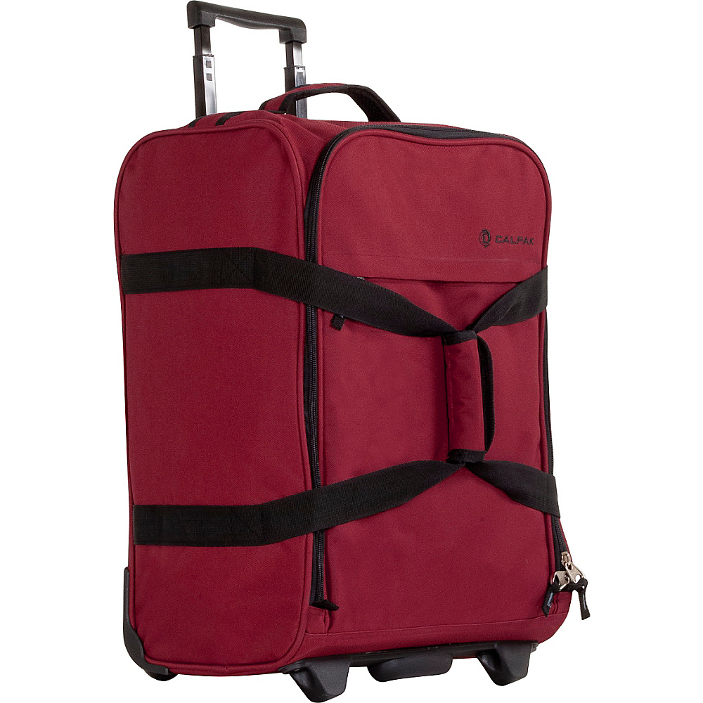 CalPak Rover Travel Duffel Deep Red CalPak Travel Duffels