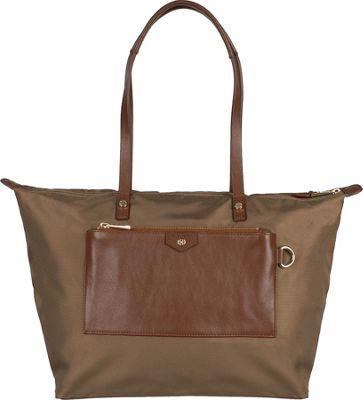 Boulevard Baylee Short Tote Camel - Boulevard Fabric Handbags