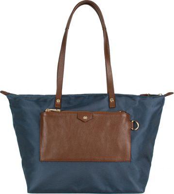 Boulevard Baylee Short Tote Lake Blue - Boulevard Fabric Handbags