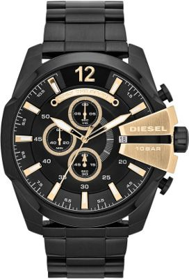 Diesel Watches Diesel Watches Mega Chief Black/Black - Diesel Watches Watches