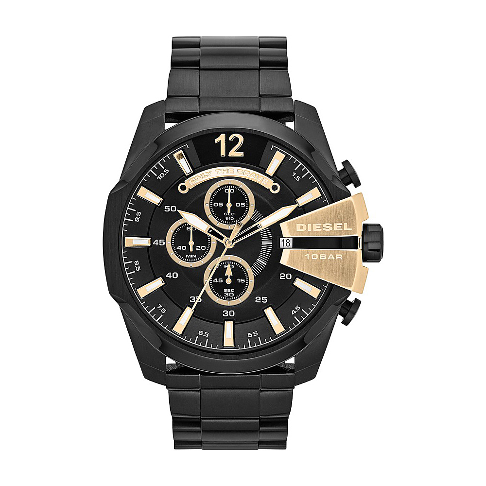Diesel Watches Mega Chief Black Black Diesel Watches Watches