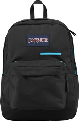 JanSport Digibreak Laptop Backpack Black - JanSport Business & Laptop Backpacks