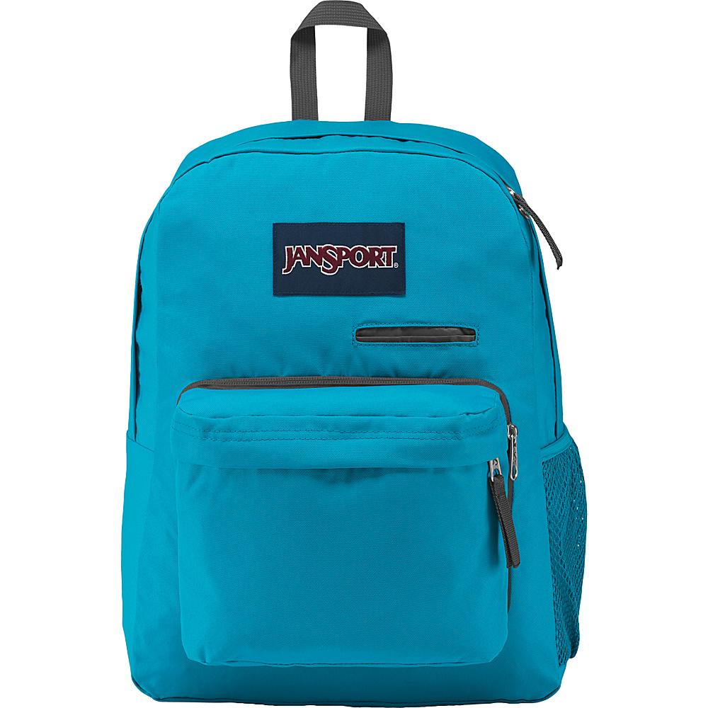 JanSport Digibreak Laptop Backpack Spot-O-Rama White - JanSport Business & Laptop Backpacks - Backpacks, Business & Laptop Backpacks