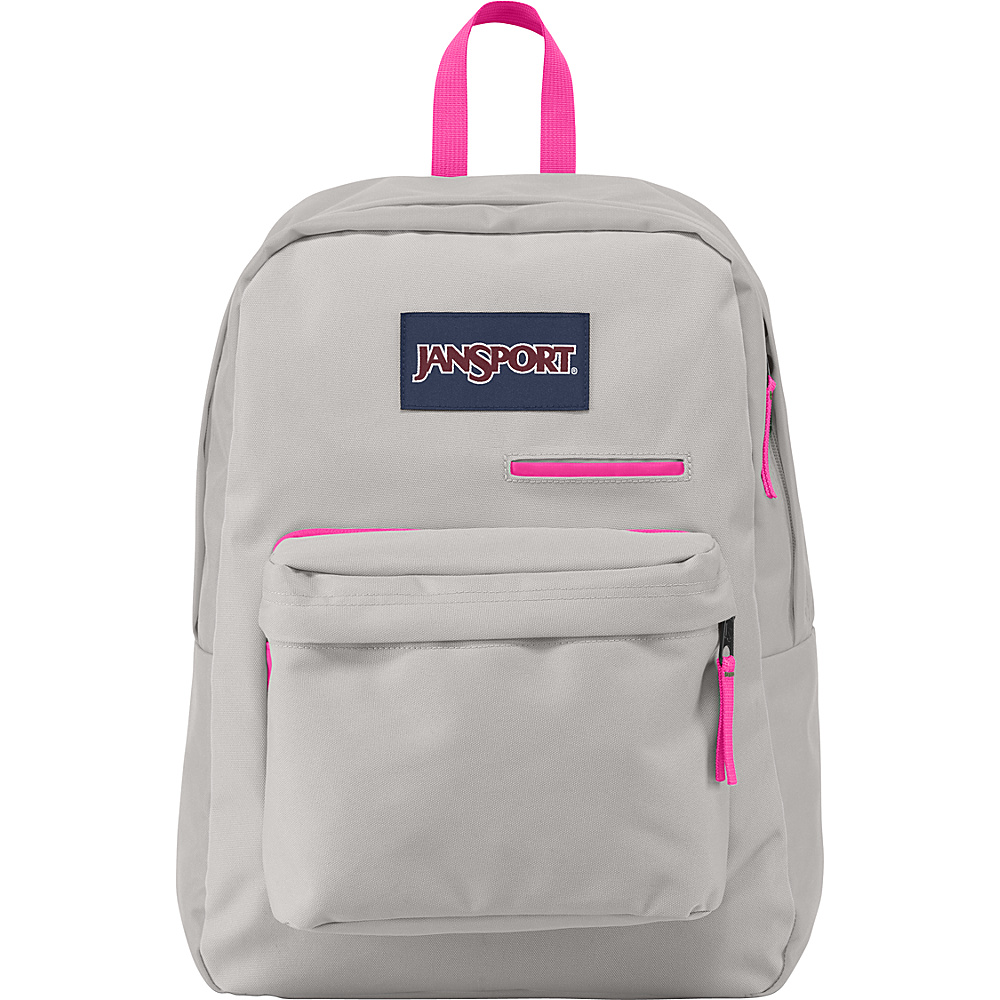 JanSport Digibreak Laptop Backpack Grey Rabbit - JanSport Laptop Backpacks - Backpacks, Laptop Backpacks
