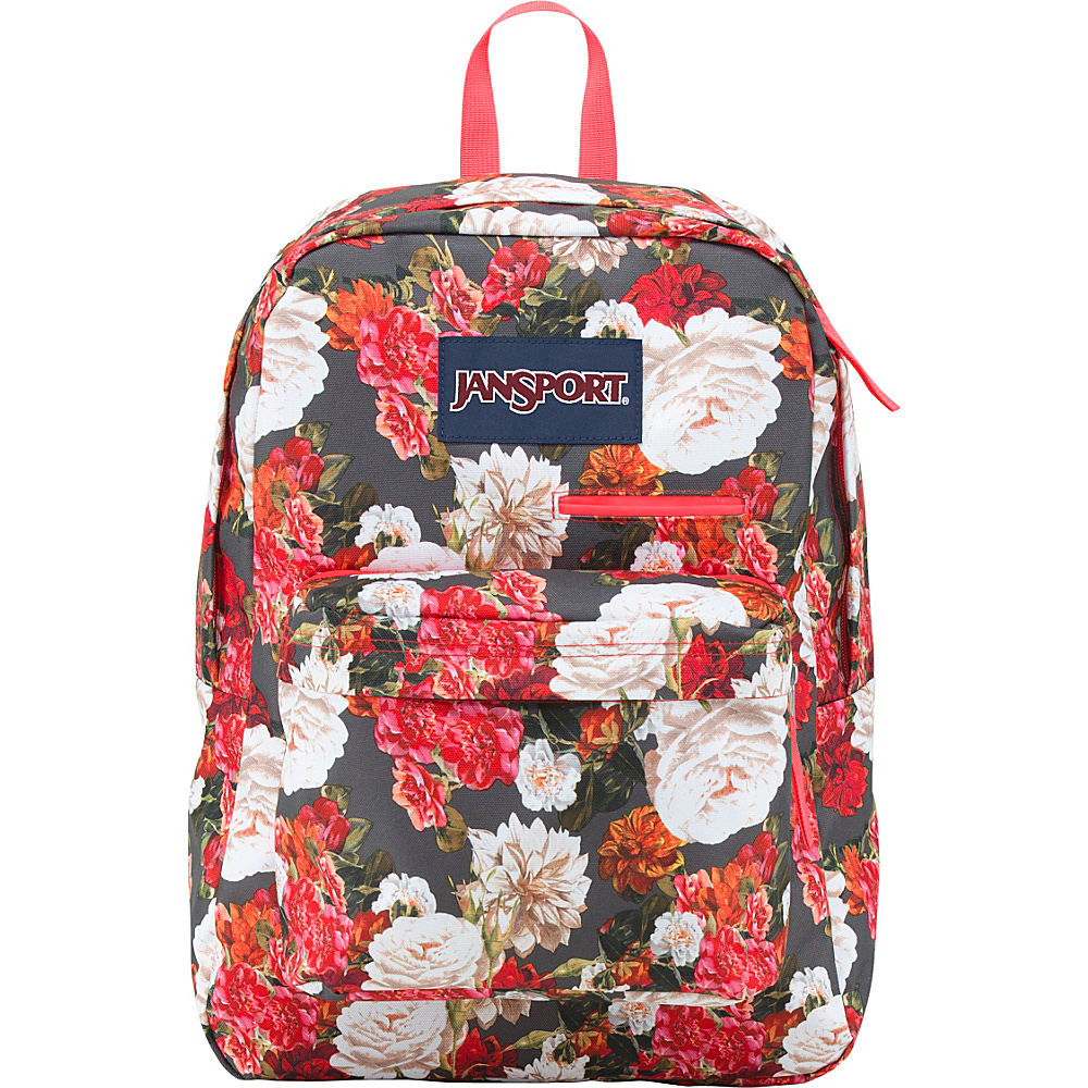 JanSport Digibreak Laptop Backpack Multi Photo Floral - JanSport Laptop Backpacks - Backpacks, Laptop Backpacks