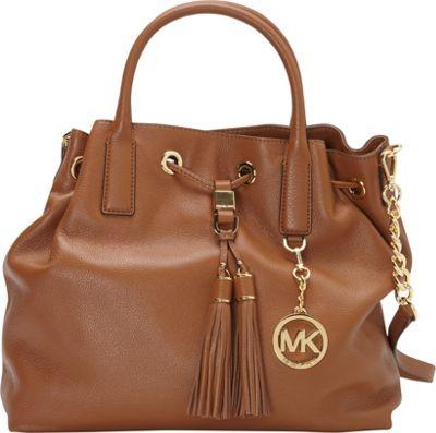 MICHAEL Michael Kors Camden Large Drawstring Satchel Luggage - MICHAEL Michael Kors Designer Handbags