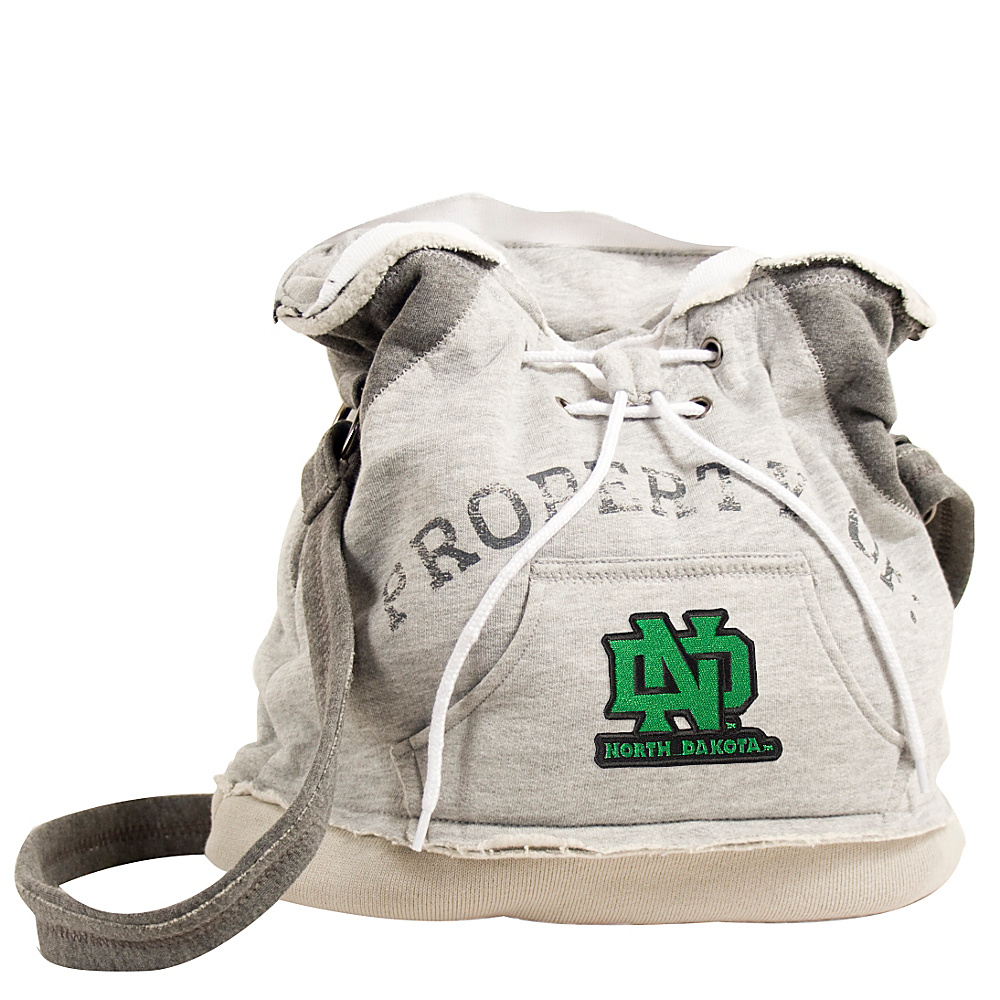 Littlearth Hoodie Shoulder Bag College Teams North Dakota U of Littlearth Fabric Handbags