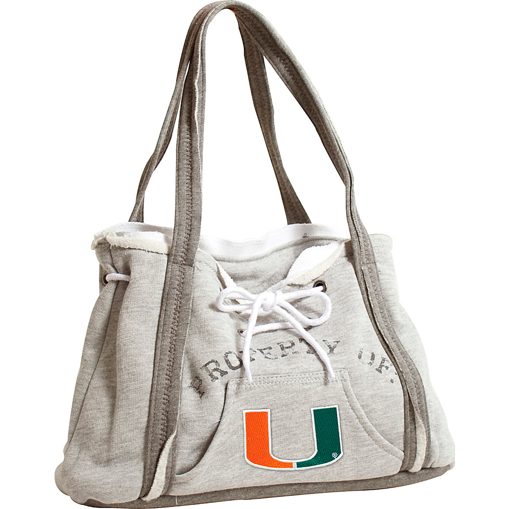 Littlearth Hoodie Purse - ACC Teams Miami, U of - Littlearth Fabric Handbags - Handbags, Fabric Handbags