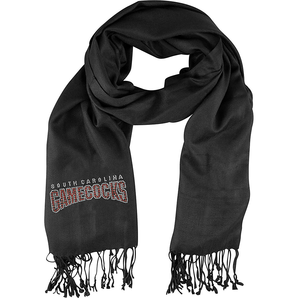 Littlearth Pashi Fan Scarf - SEC Teams South Carolina, U - Littlearth Hats/Gloves/Scarves - Fashion Accessories, Hats/Gloves/Scarves