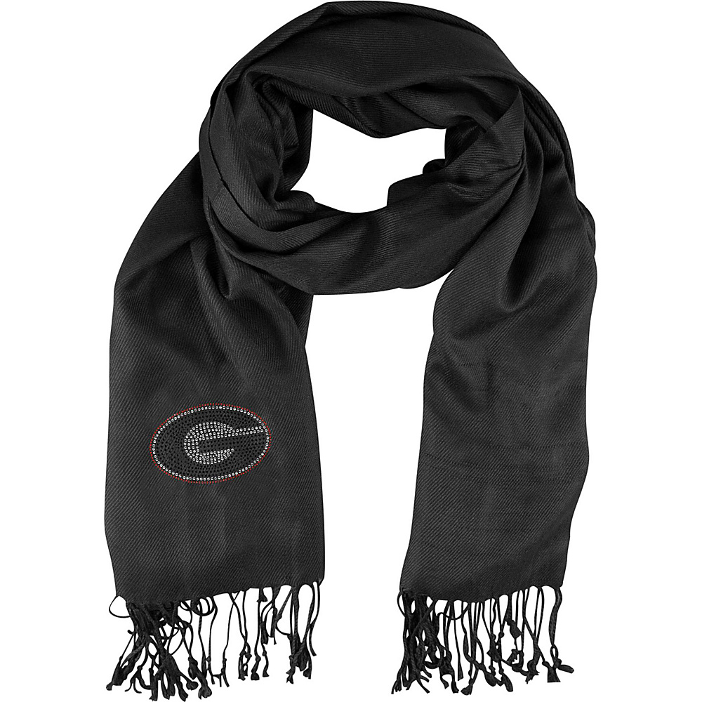 Littlearth Pashi Fan Scarf - SEC Teams Georgia, U - Littlearth Hats/Gloves/Scarves - Fashion Accessories, Hats/Gloves/Scarves