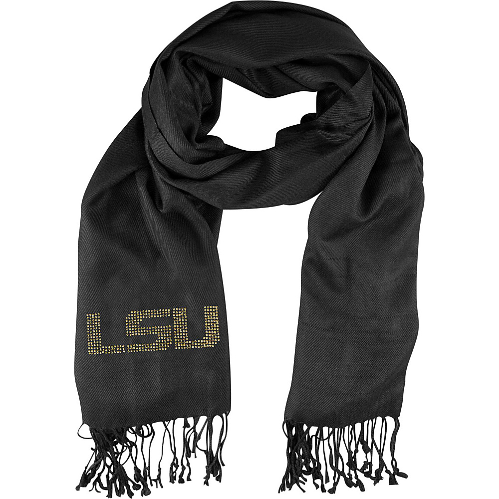 Littlearth Pashi Fan Scarf - SEC Teams Louisiana State University - Littlearth Hats/Gloves/Scarves - Fashion Accessories, Hats/Gloves/Scarves