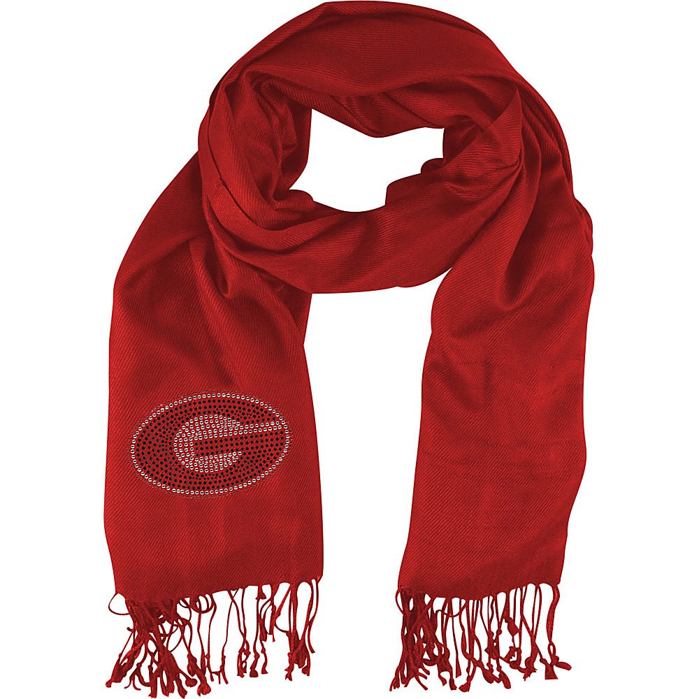 Littlearth Pashi Fan Scarf - SEC Teams Georgia, U of - Littlearth Hats/Gloves/Scarves - Fashion Accessories, Hats/Gloves/Scarves