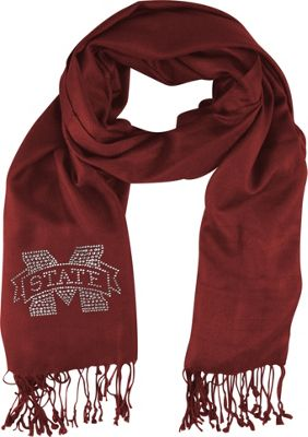 Littlearth Pashi Fan Scarf - SEC Teams Mississippi State University - Littlearth Hats/Gloves/Scarves