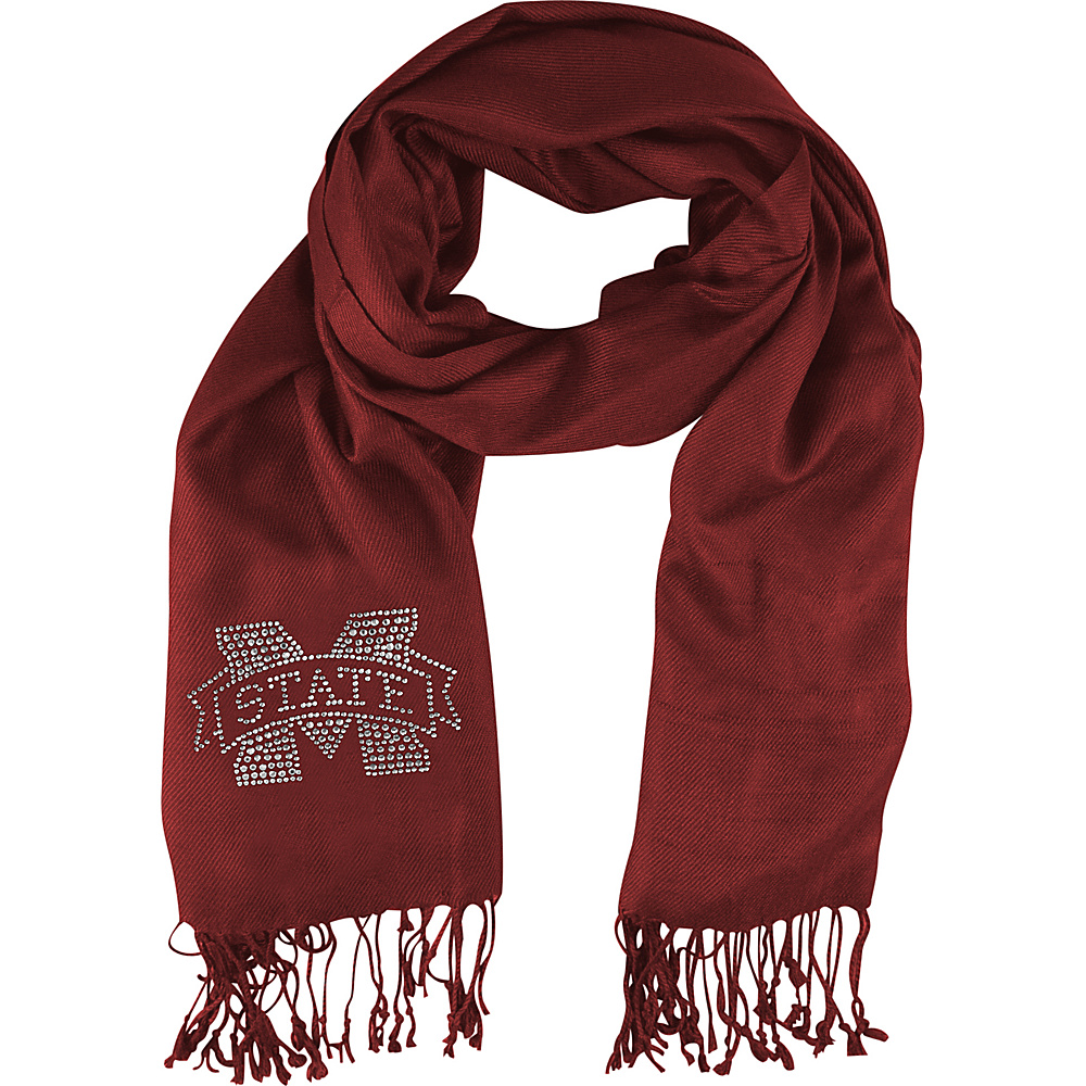 Littlearth Pashi Fan Scarf SEC Teams Mississippi State University Littlearth Hats Gloves Scarves