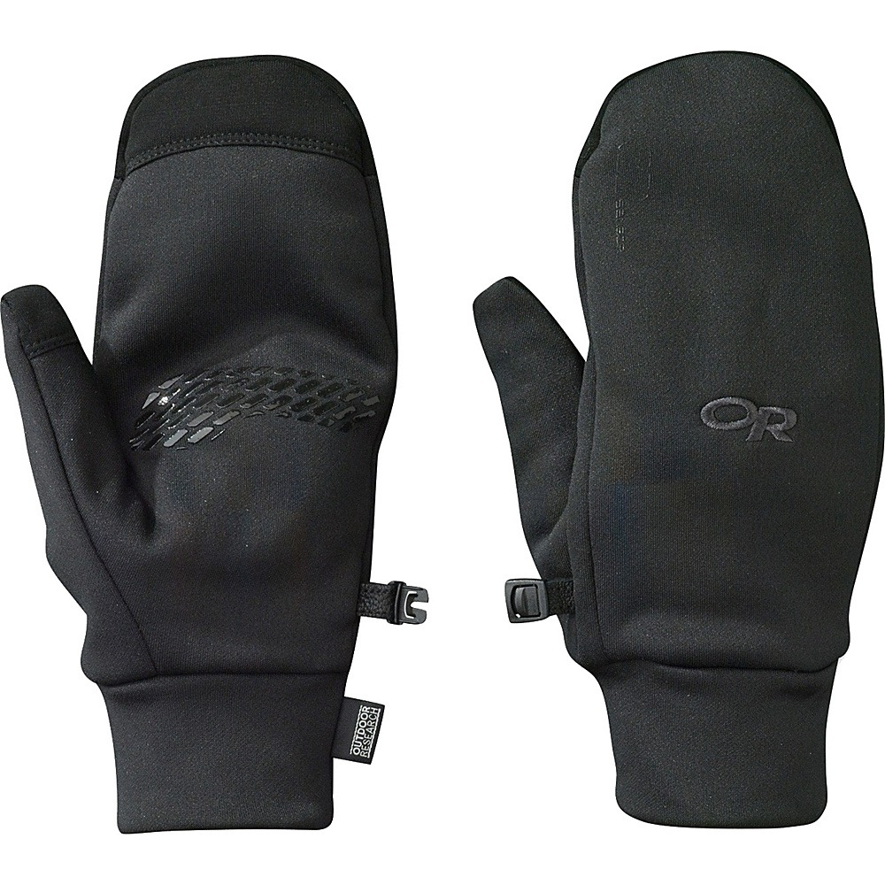 Outdoor Research PL 400 Sensor Mitts Men s Black MD Outdoor Research Hats Gloves Scarves