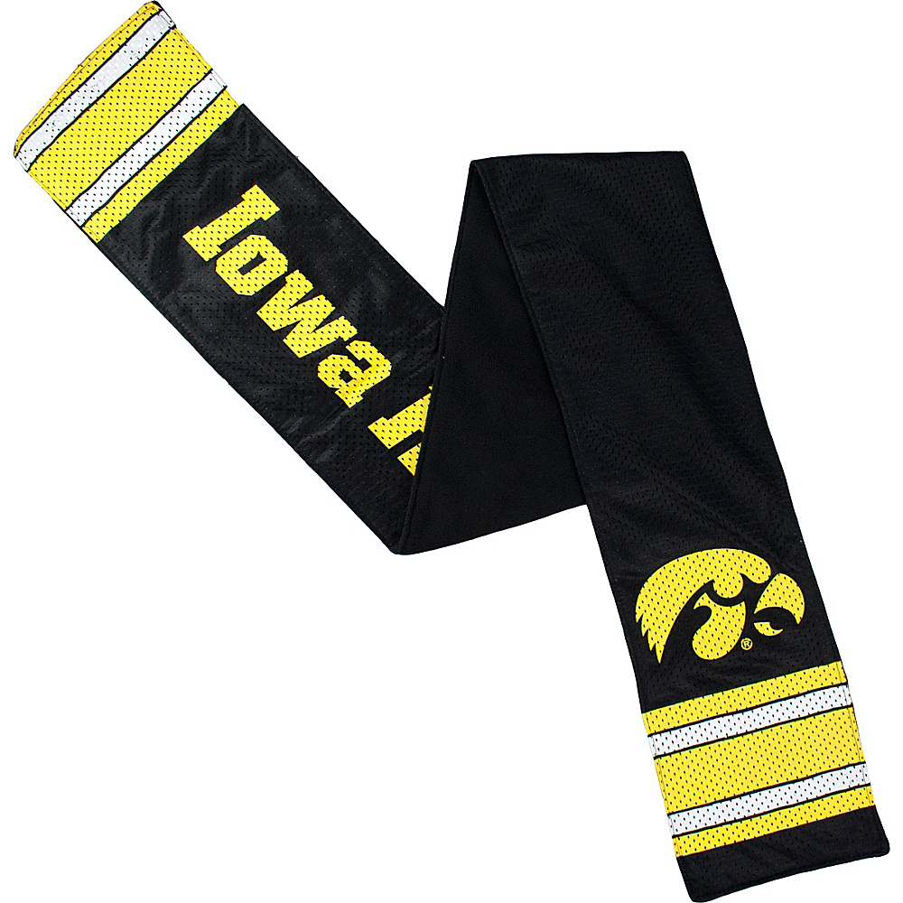 Littlearth Jersey Scarf Big Ten Teams Iowa U of Littlearth Hats Gloves Scarves
