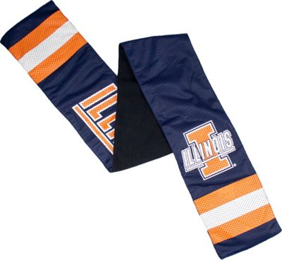 Littlearth Jersey Scarf - Big Ten Teams Illinois, U of - Littlearth Hats/Gloves/Scarves