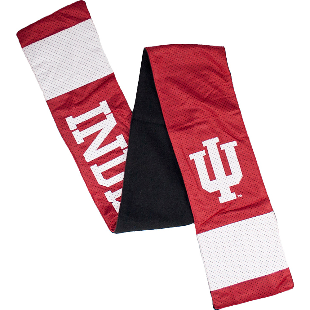 Littlearth Jersey Scarf - Big Ten Teams Indiana University - Littlearth Hats/Gloves/Scarves - Fashion Accessories, Hats/Gloves/Scarves