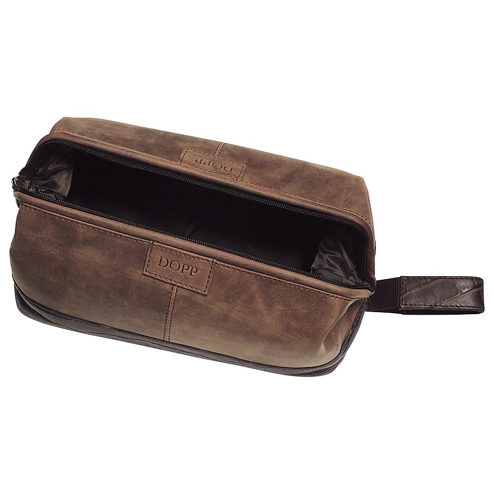 Dopp Hunter Traditional Framed Travel Kit Brown - Dopp Toiletry Kits