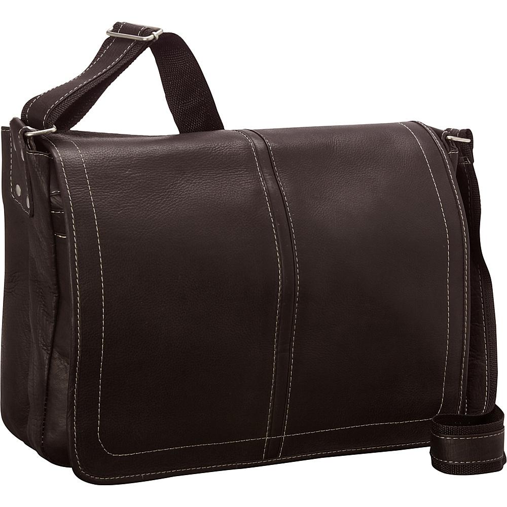 Latico Leathers Arcadia Laptop Messenger Café - Latico Leathers Messenger Bags - Work Bags & Briefcases, Messenger Bags