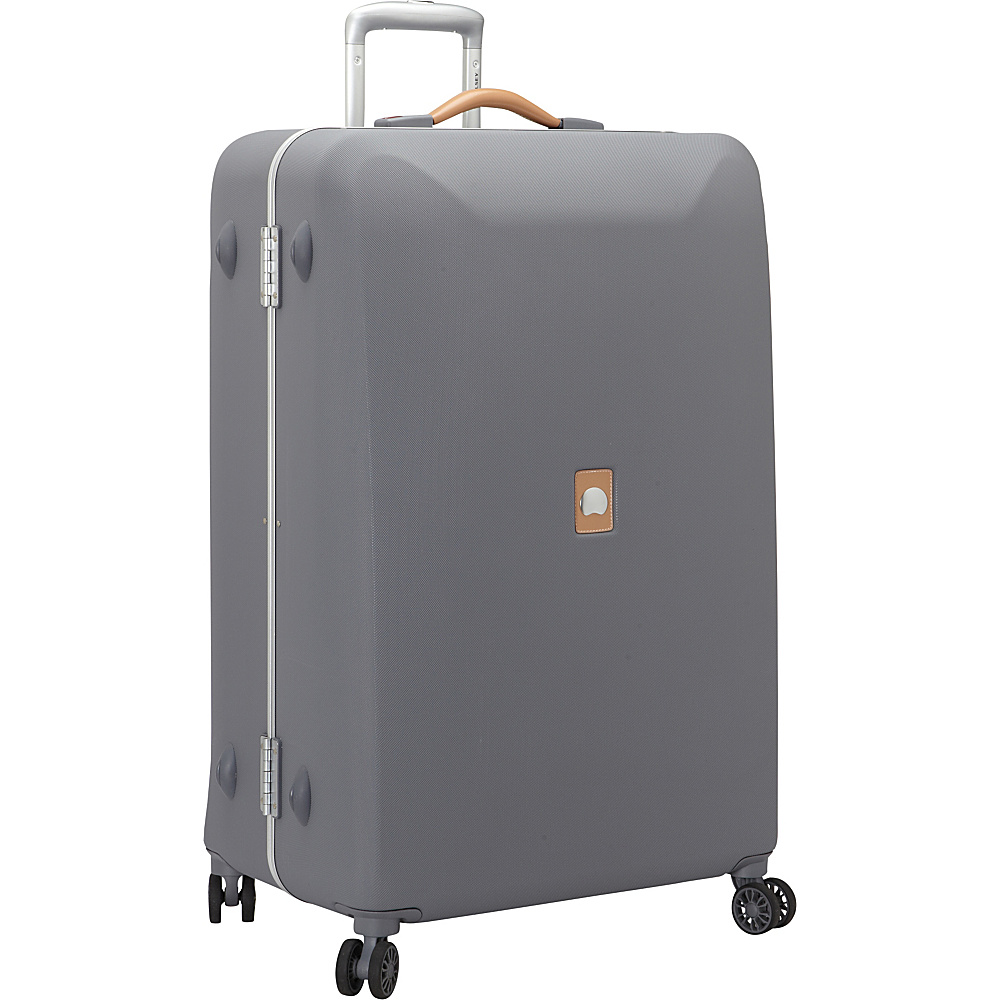 """Delsey Honore+ 27.5"""" Spinner Trolley Grey - Delsey Hardside Luggage"""