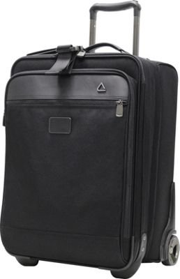 "Image of Andiamo Avanti 20"" International Auto Expand Carry-On Midnight Black - Andiamo Small Rolling Luggage"